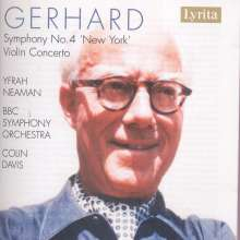 Robert Gerhard (1896-1970): Symphonie Nr.4, CD