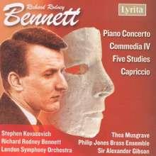 Richard Rodney Bennett (1936-2012): Klavierkonzert Nr.1, CD