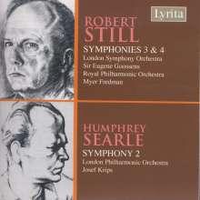 Robert Still (1910-1971): Symphonien Nr.3 & 4, CD