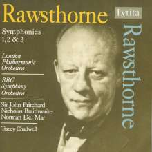 Alan Rawsthorne (1905-1971): Symphonien Nr.1-3, CD