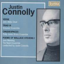Justin Connolly (geb. 1933): Cinquepaces op.5 für Blechbläserquintett, CD