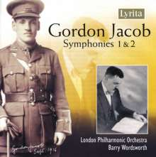Gordon Jacob (1895-1984): Symphonien Nr.1 & 2, CD