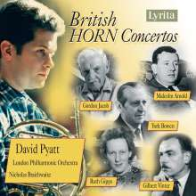 David Pyatt - British Horn Concertos, CD