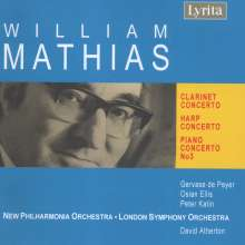 William Mathias (1934-1992): Klarinettenkonzert op.68, CD