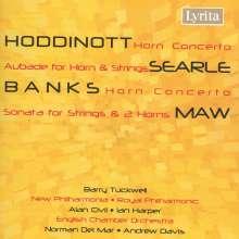 Alun Hoddinott (geb. 1929): Hornkonzert op.65, CD