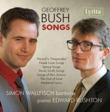 Geoffrey Bush (1920-1998): Lieder, CD