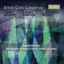 British Cello Concertos, CD