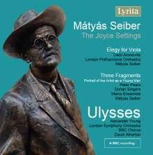 Matyas Seiber (1905-1960): Ulysses (Kantate), CD