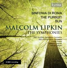Malcolm Lipkin (1932-2017): Symphonien Nr.1-3, CD