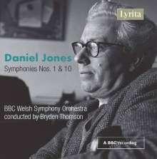 Daniel Jones (1912-1993): Symphonien Nr.1 & 10, CD