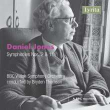 Daniel Jones (1912-1993): Symphonien Nr.2 & 11, CD