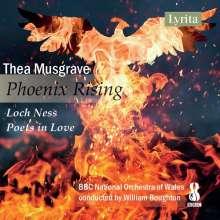 Thea Musgrave (geb. 1928): Phoenix Rising, CD
