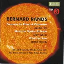 Bernard Rands (geb. 1934): Klavierkonzert, CD