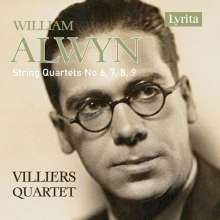 William Alwyn (1905-1985): Streichquartette Nr.6-9, CD