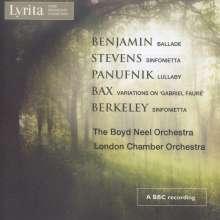 Arthur Benjamin (1893-1960): Ballade für Streichorchester, CD