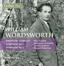 William Wordsworth (1908-1988): Symphonien Nr.1 & 5, CD