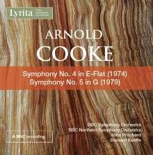 Arnold Cooke (1906-2005): Symphonien Nr.4 & 5, CD