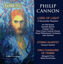 Philip Cannon (geb. 1929): Lord of Light, CD