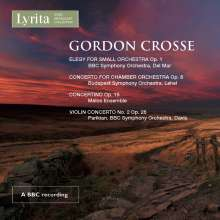 Gordon Crosse (geb. 1937): Violinkonzert Nr.2, CD