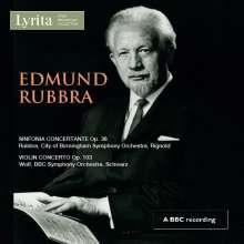 Edmund Rubbra (1901-1986): Sinfonia concertante op.38, CD