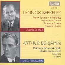 Lennox Berkeley (1903-1989): Klaviersonate A-Dur op.20, 2 CDs