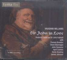 Ralph Vaughan Williams (1872-1958): Sir John in Love (Oper in 4 Akten), 2 CDs