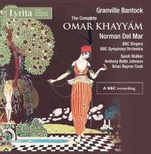 Granville Bantock (1868-1946): Omar Khayyam, 4 CDs