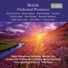 British Orchestral Premieres, 4 CDs