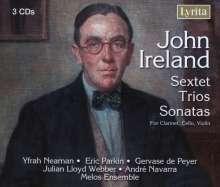 John Ireland (1879-1962): Kammermusik, 3 CDs