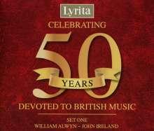 Celebrating 50 Years - Devoted to British Music Vol.1, 4 CDs