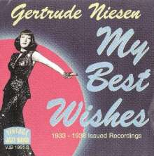 Gertrude Niesen: My Best Wishes, CD
