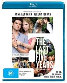 Movie: Last Five Years, Blu-ray Disc
