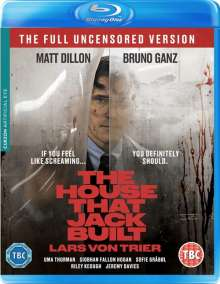 The House that Jack built (2018) (Blu-ray) (UK Import), Blu-ray Disc