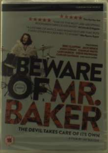 Ginger Baker (geb. 1939): Beware Of Mr Baker, DVD