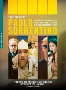 5 Films By Paolo Sorrentino (UK-Import), 5 DVDs
