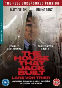 The House that Jack built (2018) (UK Import), DVD