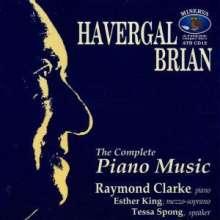 Havergal Brian (1876-1972): Klavierwerke, CD