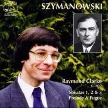 Karol Szymanowski (1882-1937): Klaviersonaten Nr.1-3, CD