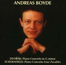"""Paul Schoenfield (geb. 1947): Klavierkonzert """"Four Parables"""", CD"""