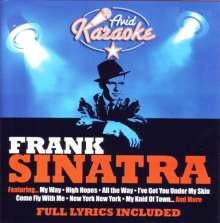 Karaoke & Playback: Frank Sinatra, CD