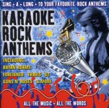Karaoke Rock Anthems, CD