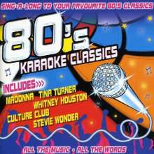 Karaoke & Playback: 80's Karaoke Classics, CD