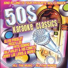 Karaoke & Playback: 50's Karaoke Classics, CD