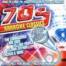 Karaoke & Playback: 70's Karaoke Classics, CD