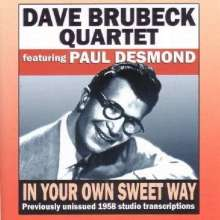 Dave Brubeck (1920-2012): In Your Own Sweet Way, CD