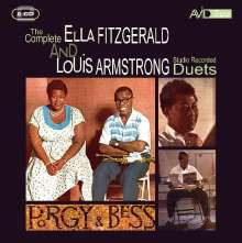 Louis Armstrong & Ella Fitzgerald: The Complete Ella Fitzgerald & Louis Armstrong (Duets), 2 CDs