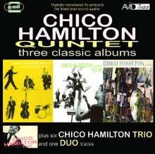 Chico Hamilton (1921-2013): Three Classic Albums, 2 CDs