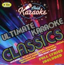 Karaoke & Playback: Ultimate Karaoke Classics, 2 CDs