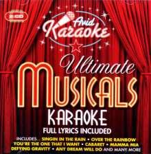 Karaoke & Playback: Ultimate Musicals Karaoke, 2 CDs