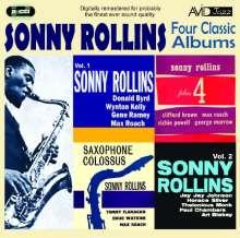 Sonny Rollins (geb. 1930): Four Classic Albums, 2 CDs
